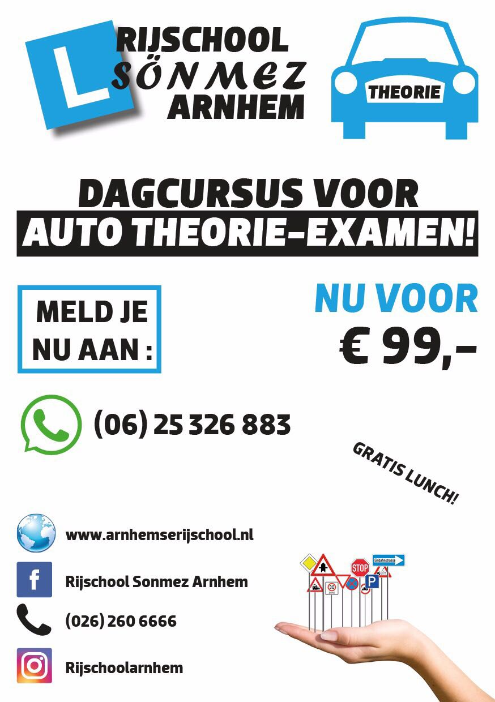 Auto theoriecursus Arnhem